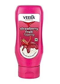 Veeba Strawberry Fruit Topping - 380 gm