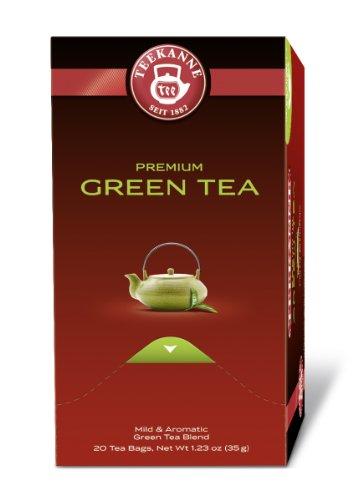 Teekanne Premium Green Tea  20 Beutel, 2er Pack (2 x 35 g Packung)