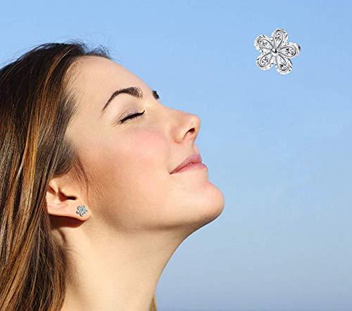 6 Paia 16G Helix Piercing Trago Orecchio Cartilagine Labbro 6MM//8MM Orecchini Zirconi Strass Colorati Brillante Acciaio Chirurgico Donna Ragazza