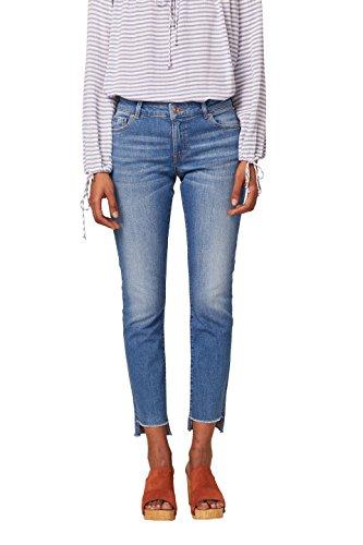 edc by ESPRIT Damen Slim Jeans 038CC1B001, Blau (Blue Medium Wash 902), 29/32