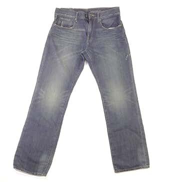 Gap - Jeans - Uni - Homme Bleu Noir foncé