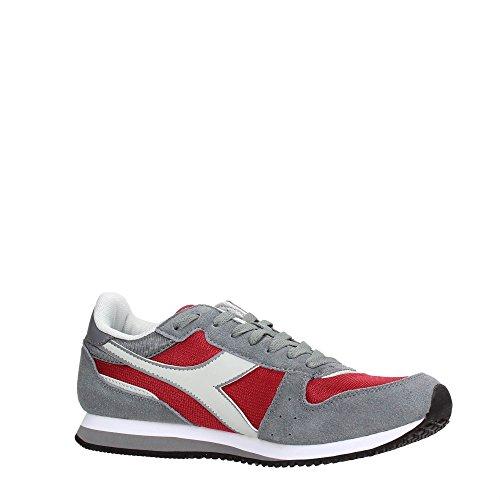 Diadora 101.170241/AI Sneakers Homme Chili Pepper/Alluminium
