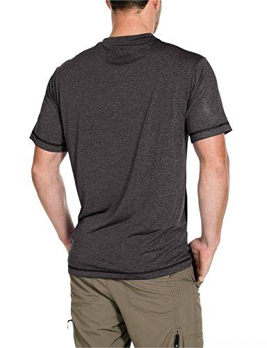 Jack Wolfskin Herren Shirt Crosstrail T dark steel