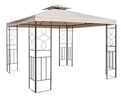 Smartweb 3x3m Beige Ersatzdach Wasserabweisend