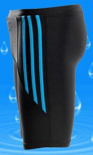 Moollyfox Hommes Couleurs Multiples Longueur Genou Maillots de bain Style 2
