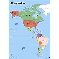 Wildgoose Education wg3529mapa de la América