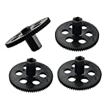 Sharplace 4pcs Engrenages Grands à Moteur en Plastique 23mm Drone RC pour Visuo XS809 XS809HW XS809HC