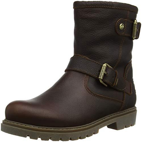 Panama Jack Damen Felina Igloo Biker Boots, Braun (Castaño B20), 38 EU