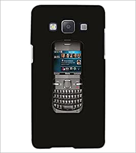 PrintDhaba Handset D-1174 Back Case Cover for SAMSUNG GALAXY E5 (Multi-Coloured)