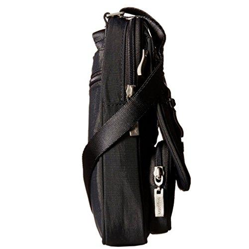 Baggallini Viaggio Viaggio Tracolla Organizer Bag Nero