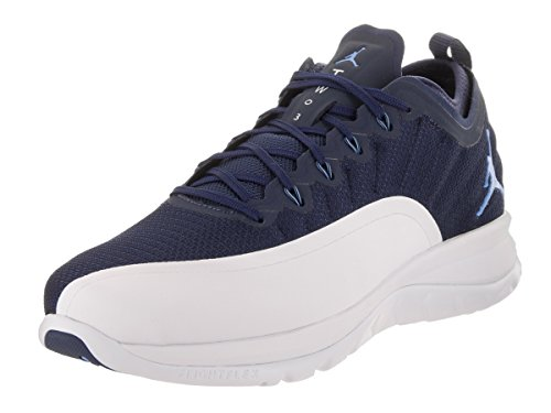 Nike Hommes Jordan Trainer Prime Mesh Trainers Midnight Navy Université Bleu