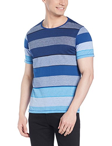 Qube By Fort Collins Men's T-Shirt (176-rstr_Medium_Multicolor 2)