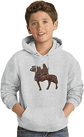 Mesopotamian art Kids Sweat-shirt à capuche léger Lightweight Hoodie For Kids | 80% Cotton-20%Polyester| 14-15 yrs