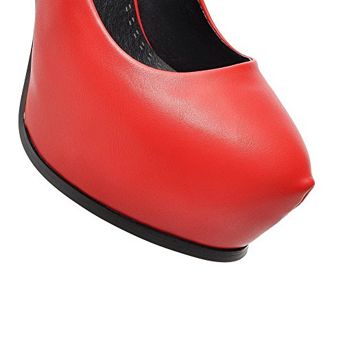 1TO9 Scarpe Red donna col tacco SYwS1g