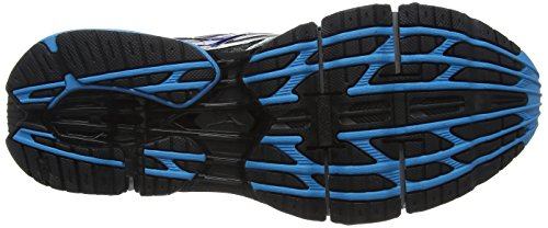 Mizuno Wave Prophecy 5 Herren Laufschuhe Black (Gunmetal/Atomic Blue/Black)