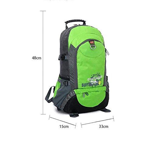 40L nuovo all'aperto alpinismo borse zaino Sport zaino Borsa da viaggio arrampicata Borse , blue Black