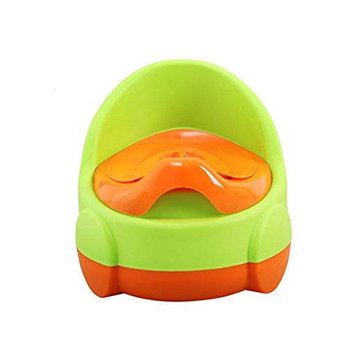 Enfants Toilette- Toilettes pour Enfants Toilettes pour Bébé Mâle Et Femelle Urinoir Potty Child Green PP Petites Toilettes