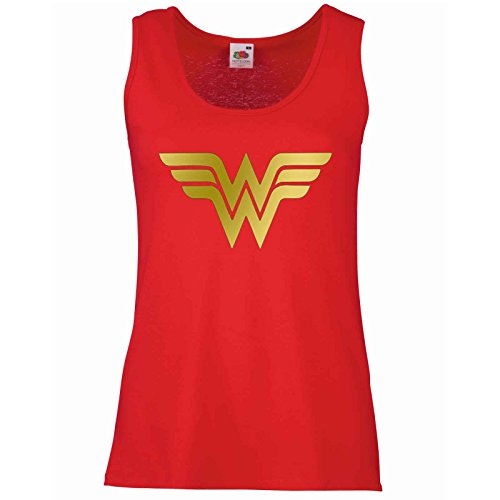 Wonder Woman Vest Top Ladies