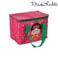 Sass & Belle Frida Kahlo Pink Lunch Bag, Multi-Colour, Single
