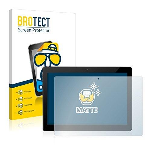 2X BROTECT Matt Bildschirmschutz Schutzfolie für Allview W10N (matt - entspiegelt, Kratzfest, schmutzabweisend)