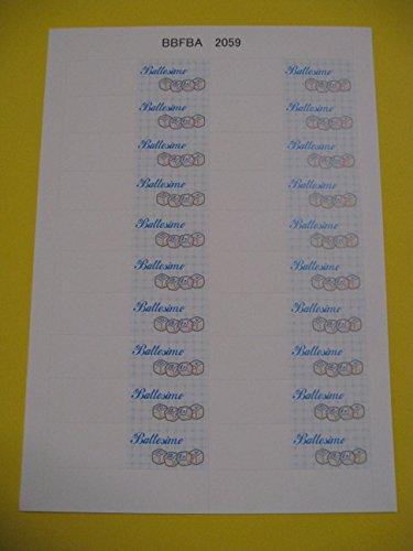 Preisvergleich Produktbild Karten weißen Gastgeschenk Taufe Kind