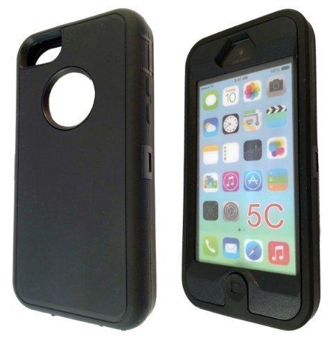 iphone 5C Qualité Workman Coque résistante anti-choc ultra fine avec protection d'écran intégrée