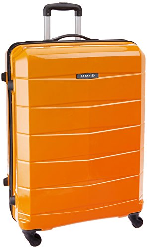 Safari Re-Gloss Polycarbonate 76 cms Mustard Yellow Suitcases (NEW-Re-Gloss-77-Mustard Yellow-4WH)