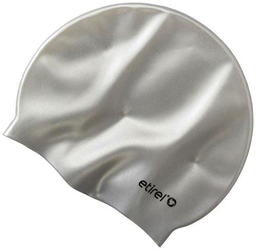 Etirel Ari Badekappe, Silver, One Size