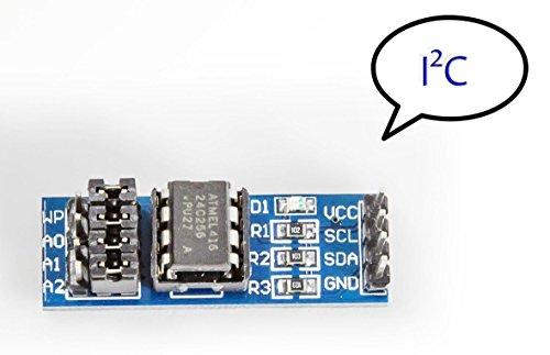 I2C EEPROM Speicher Modul 256K AT24C256 für Arduino Raspberry Pi Dataloging (Arduino-speicher)