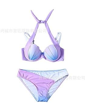 La manifestación de la cómoda correa _. bikini degradado es moderno y cómodo bikini versión exclusiva de la cosecha...