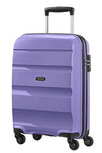 American Tourister Bon Air - Spinner, 55 cm, 31.5 liters, Bagage Cabine, Lilas (Lavender Purple)