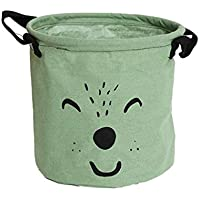 Gelb JameStyle26 W/äschekorb Box faltbar Aufbewahrungbox Kinderzimmer Kinder Wohnzimmer Bad Badezimmer B/ärchen Korb Eimer Spielzeug