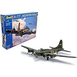 Revell Revell-B-17F Boeing B-17F Memphis Belle, Kit de Modelo, Escala 1:48 (4297) (04297)