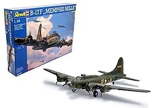 Revell Revell-B-17F Boeing B-17F Memphis Belle, Kit de Modelo, Escala 1:48 (4297) (04297), Multicolor