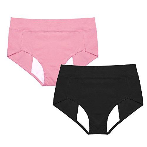 intimate-portal-women-cotton-leak-proof-protective-incontinence-brief-2-pk-black-rose-pink-uk-8