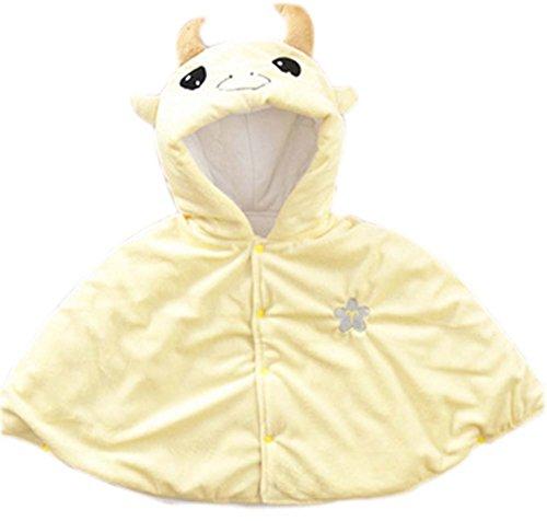 Baby-Cloak mit Schal Babydecken Zwölf Constellations Babymantel Gelb Taurus