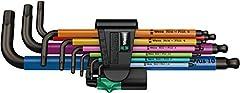 Wera 05073593001 950 9 Hex-Plus Multicolour