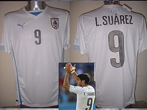 Uruguay Luis Suarez Puma BNWT Shirt Jersey Fußball Erwachsene groß New Barcelona Top
