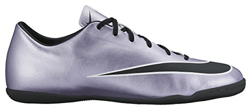 Nike Mercurial Victory V Ic, Chaussures de Football Compétition Homme Argent - Silber (Silber/Schwarz)