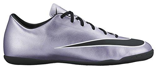 Nike Herren Mercurial Victory V IC Fußballschuhe Silber/Schwarz, 40 EU - Turf Nike Männer Für Schuhe
