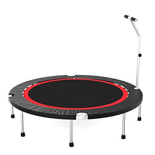 Trampoline Haushaltstrampolin mit Handlauf - Mini Kids Indoor/Garten/Workout Cardio, Unterstützung 275kg gartentrampolin (größe : 48 inch)