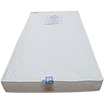 KATY® Superior Deluxe Spring Cot Bed-Junior Bed Sprung Mattress 140x70 x 10CM THICK British Made With High Grade Density Foam CMHR28