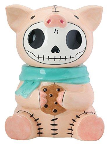 Speck Pig Furry Bones Cookie Treat Jar Pig Cookie Jar