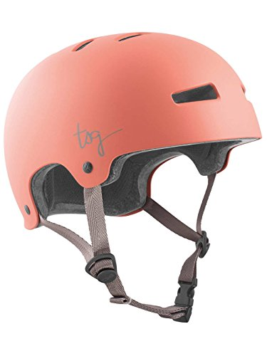 tsg-evolution-damen-jeans-solid-color-half-shell-helmet-womens-evolution-wmn-solid-color-satin-salmo