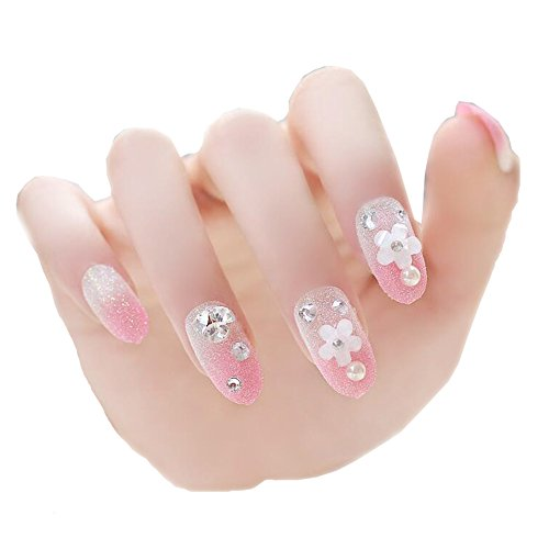Nail Art Stickers Decor Décorations d'ongles Pink Gradient
