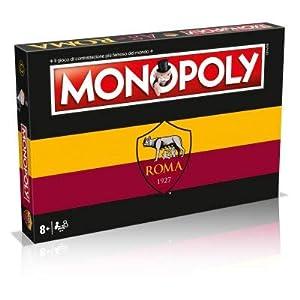 Winning Moves Juego de tavolo-Monopoly Equipos de Calcio-Roma Edición de colección, 31288
