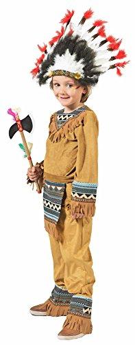 Funny Fashion Indianer Cherokee Jungen Kostüm Gr. 152 - Hose Cherokee