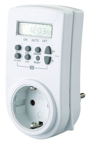 GAO EMT707PA Digitale Wochen-Zeitschaltuhr max. 98 Schaltungen pro Woche