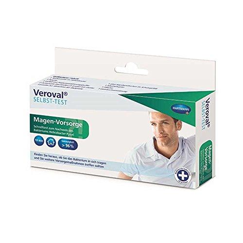 1x Hartmann Veroval® Magen-Vorsorge Helicobacter pylori Testkit Selbsttest Bluttest Test