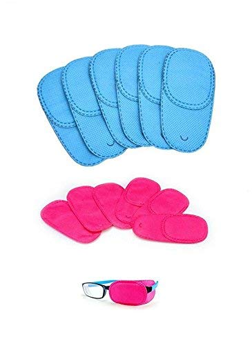 Efbock - Parche de ojo para gafas de sol 12 piezas